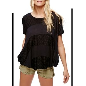 Free people anything & everything tee S